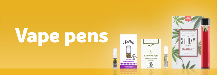 Shop cannabis vape pens and products