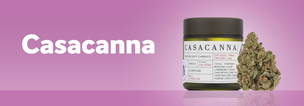 Order Casacanna cannabis products on Grassdoor delivery