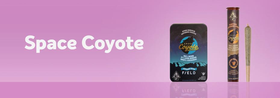 Space Coyote cannabis pre-rolls on Grassdoor