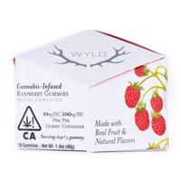 WYLD Raspberry Gummies