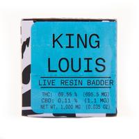 King Louis Live Resin Badder