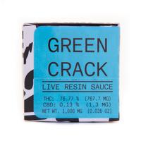 Green Crack Live Resin Sauce
