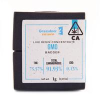 GMO Live Resin Badder