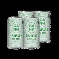 Sava Lime Basil 4pk