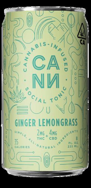 Ginger Lemongrass 4pk