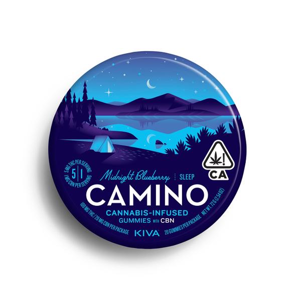 "Camino Midnight Blueberry ""Sleep"" CBN Gummies"