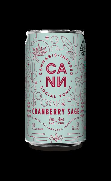 Cranberry Sage 4pk