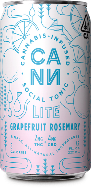 Grapefruit Rosemary Lite 6pk