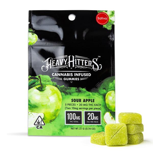 Sour Apple Ultra Potent Gummies