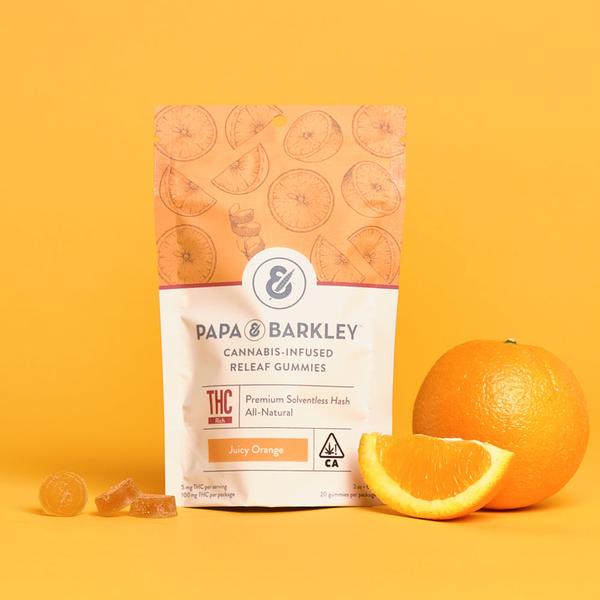 Juicy Orange THC Releaf Gummies