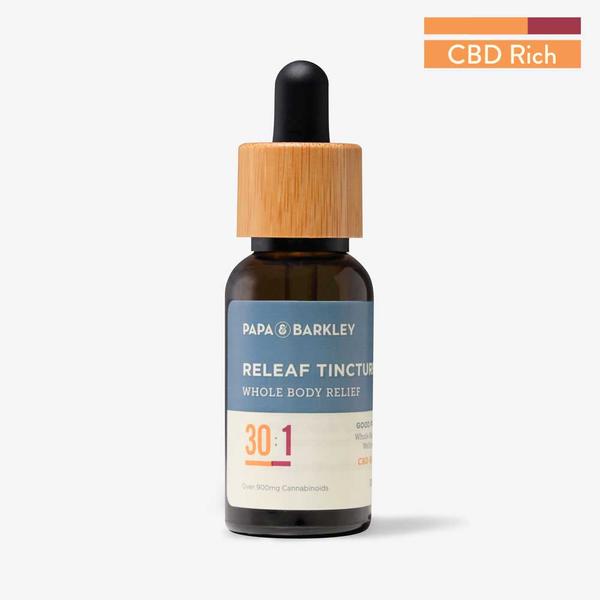 CBD Rich 30:1 Releaf Tincture  (30ml)